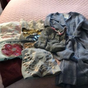 Girls Abercrombie kids clothing & more 8 pieces
